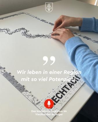 Puzzle von Viechtach